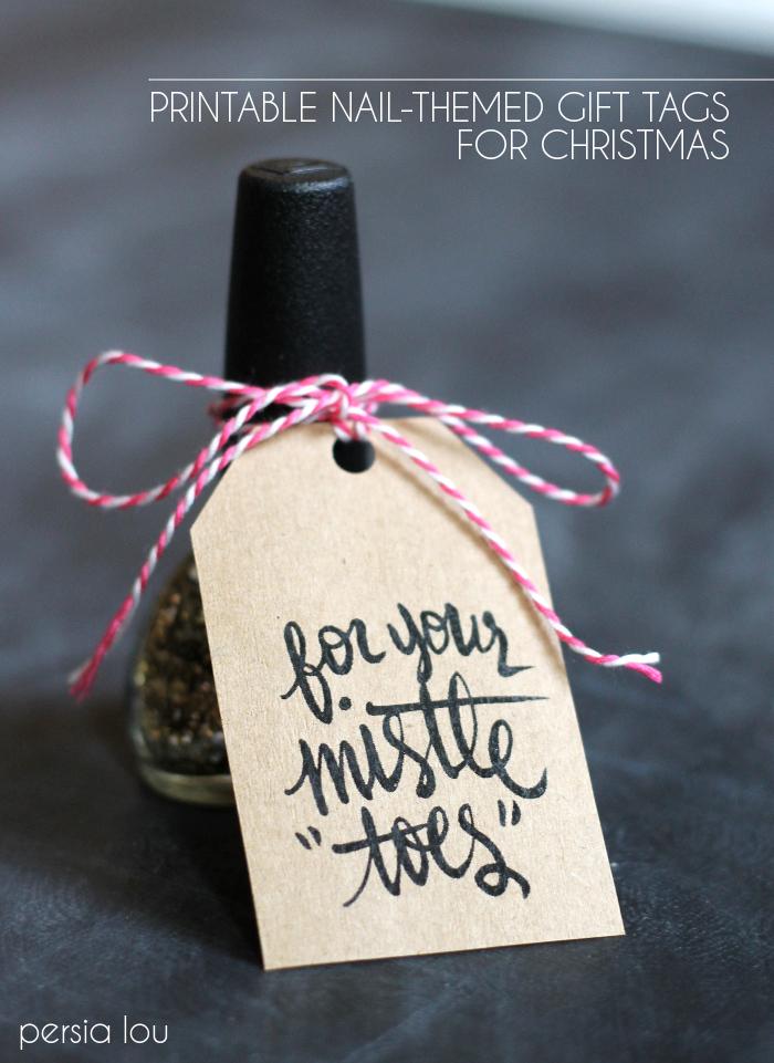 nail gift christmas printable 4