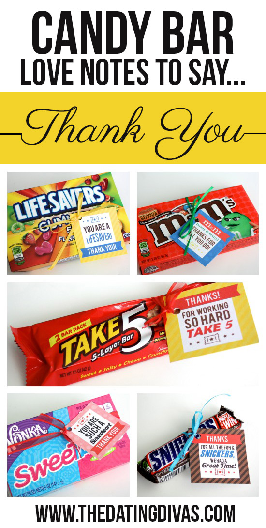 25 Creative Ways to Say Thank You - Crazy Little Projects