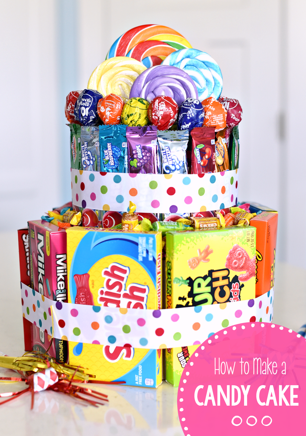 How to Make a Candy Cake