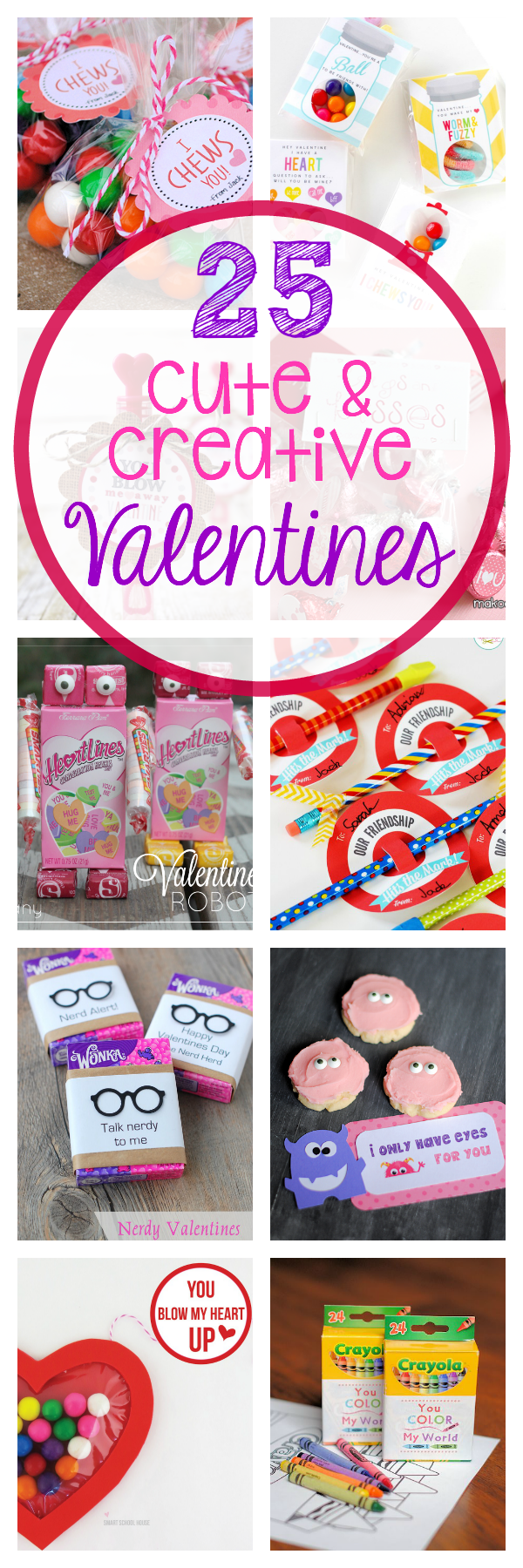 25 of the Cutest Valentine's Day Printable Cards for the kids to give out in class. Super cute ideas that are easy to put together and fun to give. #valentinesday #valentinesdayideas