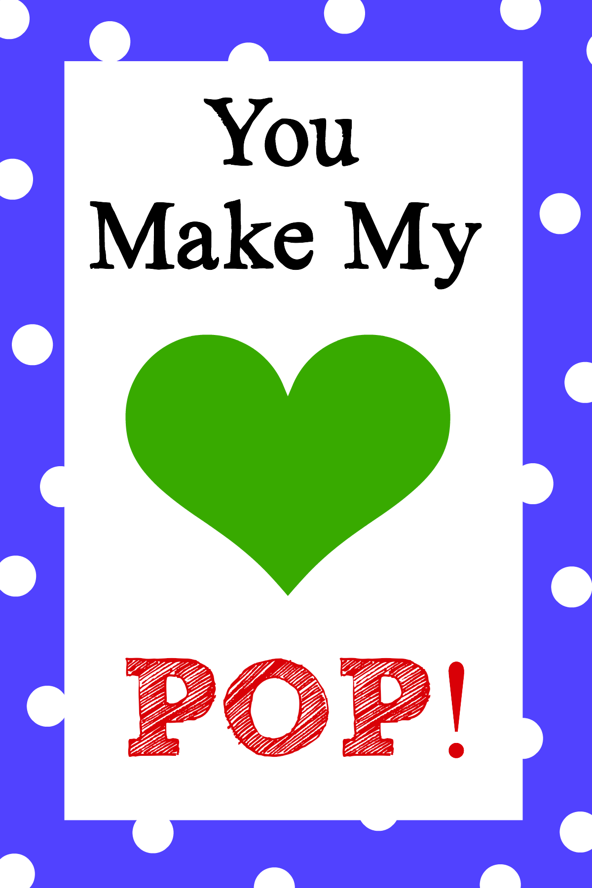 image relating to Popcorn Valentine Printable identify Your self Generate My Center Pop! Valentines Thought - Ridiculous Tiny Initiatives