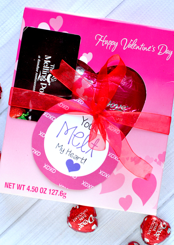You Melt My Heart Valentine Gift Idea