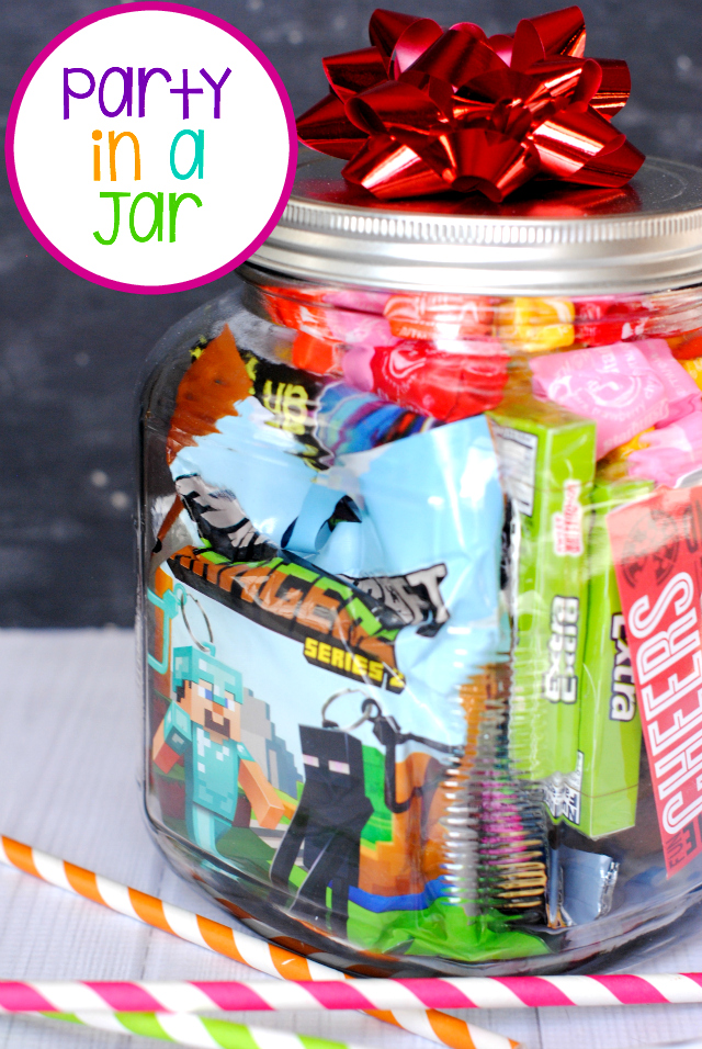 A Party in a Jar Birthday: Fun Birthday Gift Idea