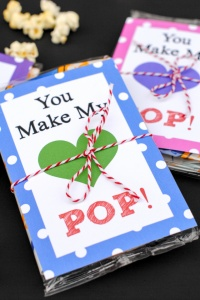Cute Valentine's Day Idea-You Make My Heart POP!