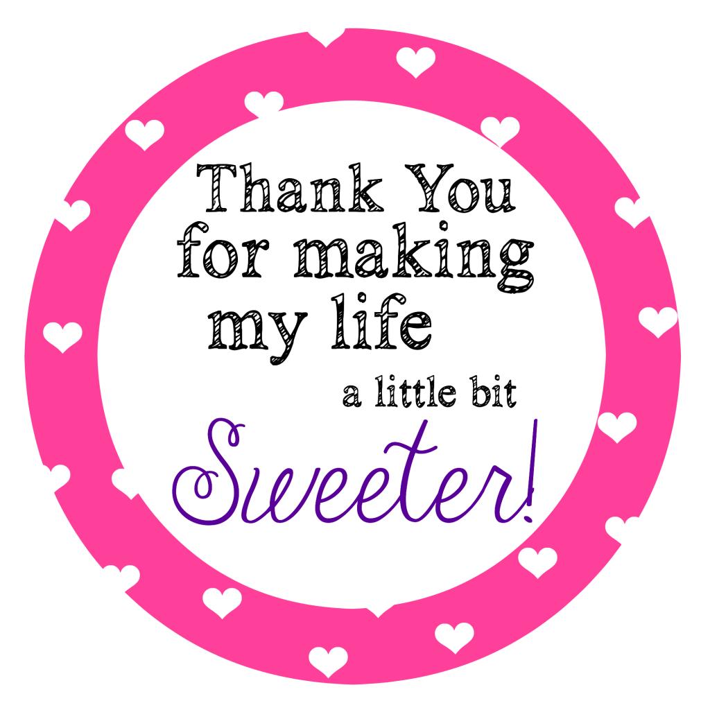 Thankyouformakingmylifesweeter