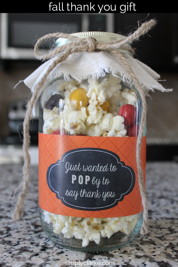 25 creative ways to say thank you crazy little projects Gifts for home builders