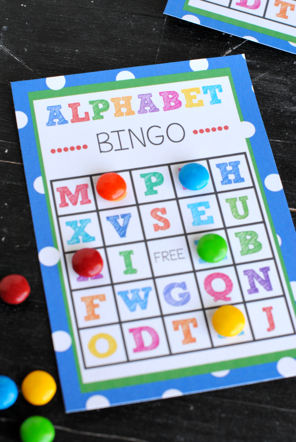 picture about Letter Recognition Games Printable identify Cost-free Printable Alphabet Bingo Match