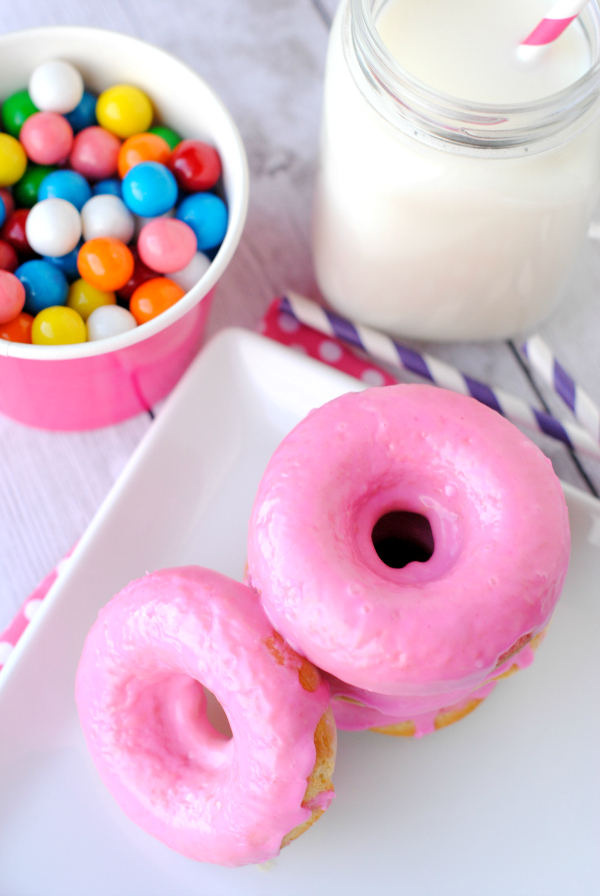 Bubble Gum Donuts (Your kids will thank you!)