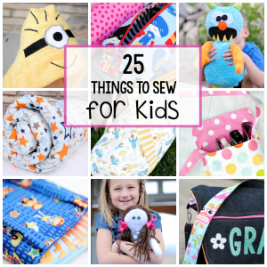25 Sewing Patterns for Kids