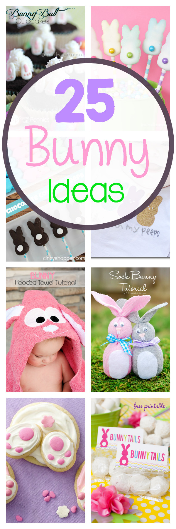 25 Cute Easter Bunny Ideas-Crafts, Treats & More! - Crazy ...