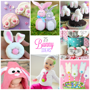 25 Cute Easter Bunny Ideas-Crafts, Treats & More!