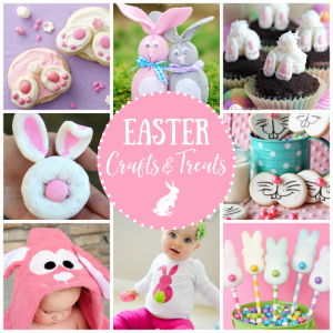 25 Easter Crafts & Treats with Bunnies