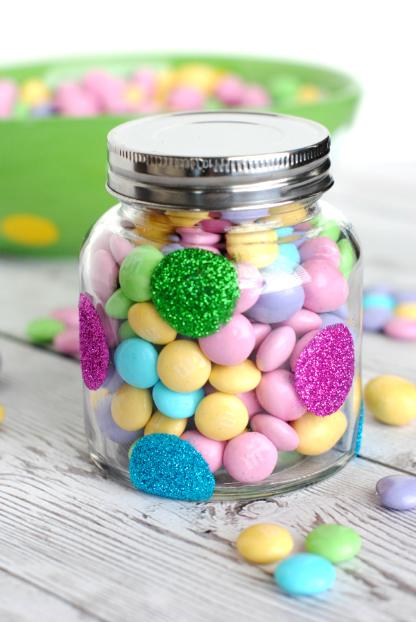 Polkadot Candy Jar