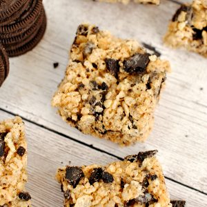 Peanut Butter Oreo Krispy Treats