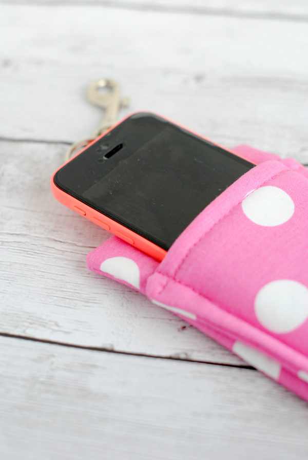 Easy DIY Phone Wallet