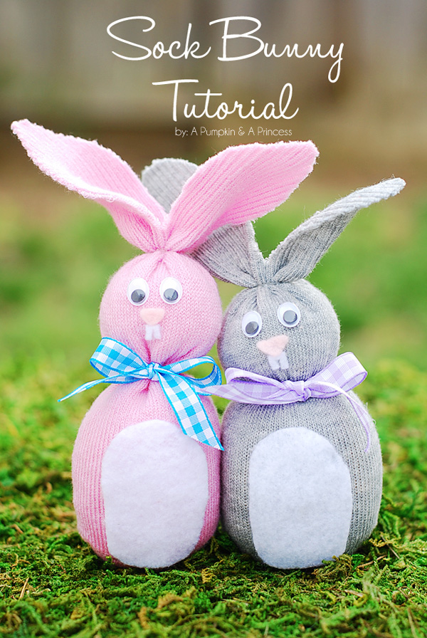 25 Easter Crafts Treats With Bunnies Crazy Little Projects