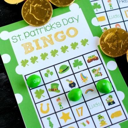 St. Patrick's Bingo Cards