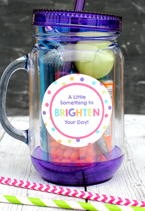 Brighten your day gift idea for friends crazy little for Easy presents to make for friends