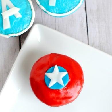 Avengers Cupcakes Ideas