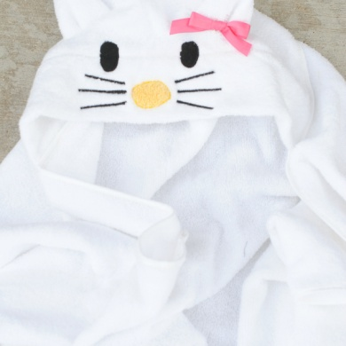 Hello Kitty Hooded Towel
