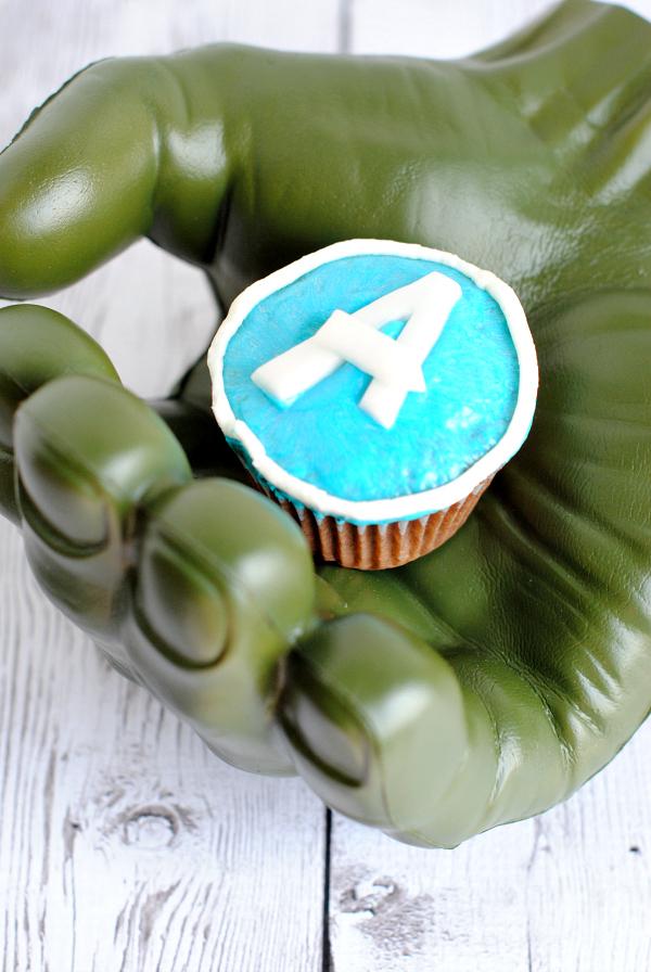 Avengers Cupcake Idea