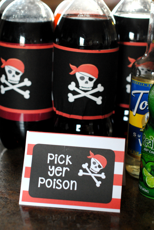 Pirate Party Ideas-Invitations, Food, Games and More