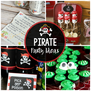 Fun Pirate Party Ideas-Invitations, Decorations, Food, & Games
