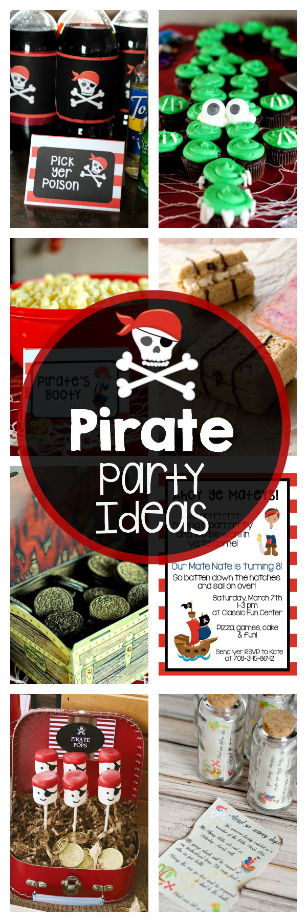 Tons of Pirate Party Ideas