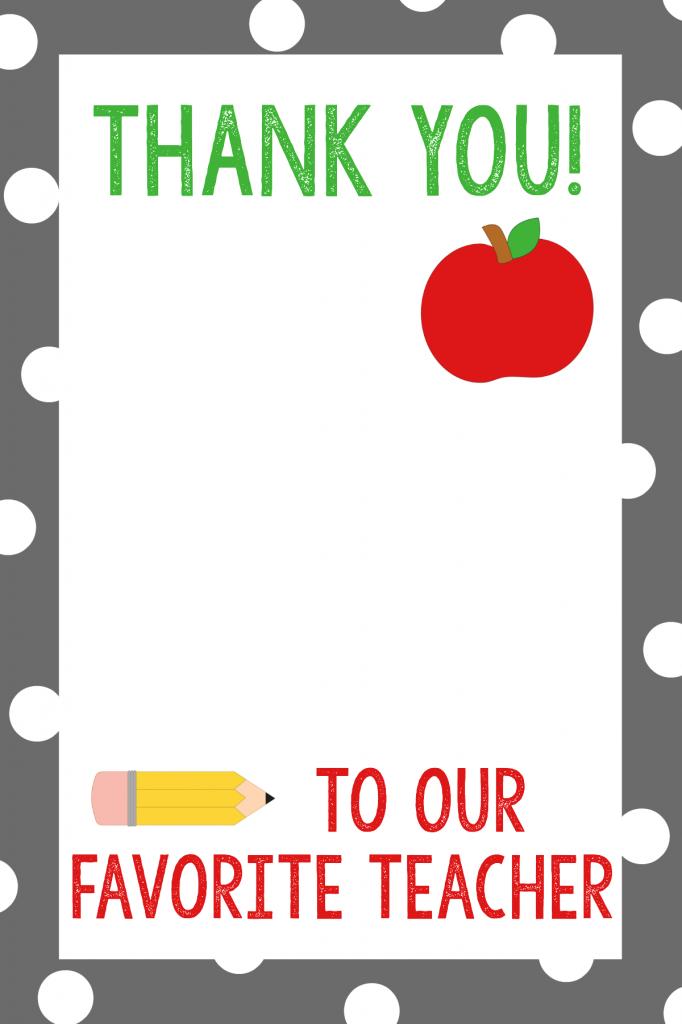 TeacherAppreciationGiftCardHolder