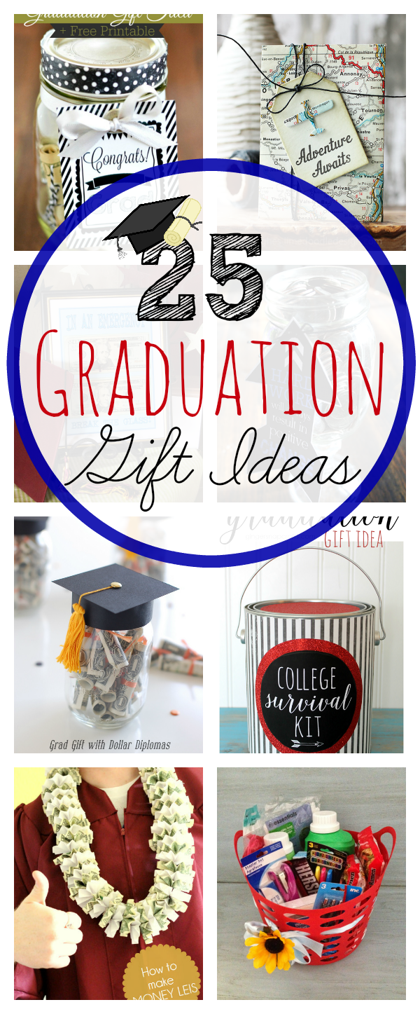 25 Graduation Gift Ideas-These great gifts for grads are a fun way to celebrate the big occasion! Great graduation gift ideas for anyone. #graduation #gradgifts #graduationideas #gifts