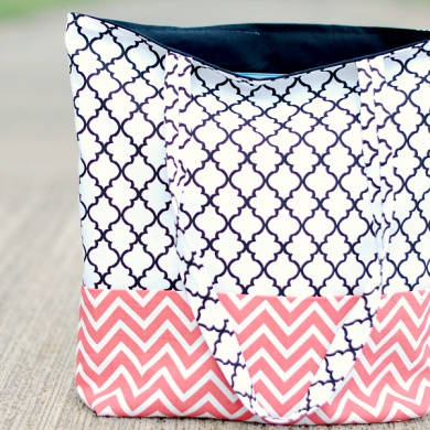 How to Make a Bag: Tote Bag Pattern