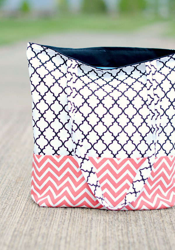 How to Make a Bag: Easy Tote Bag Pattern and Tutorial