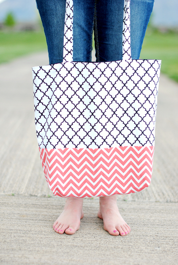 How To Make A Bag Tote Bag Pattern And Tutorial