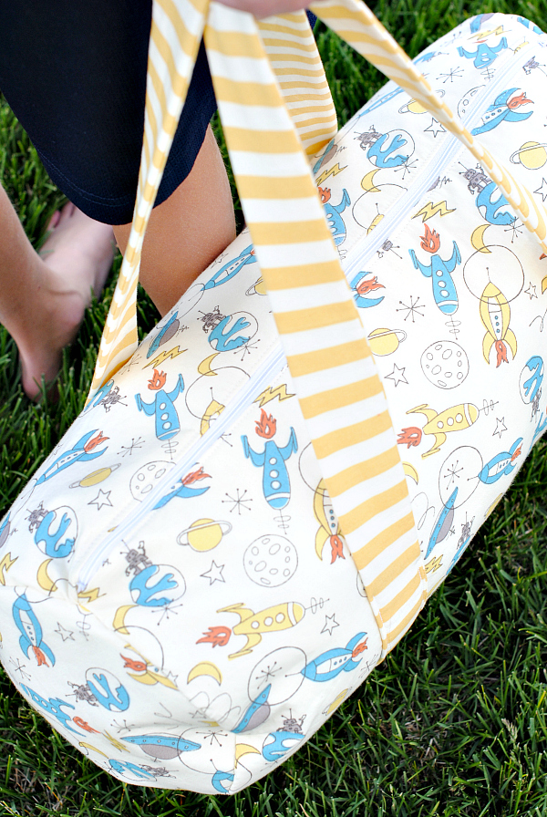 Kid's Duffle Bag Pattern