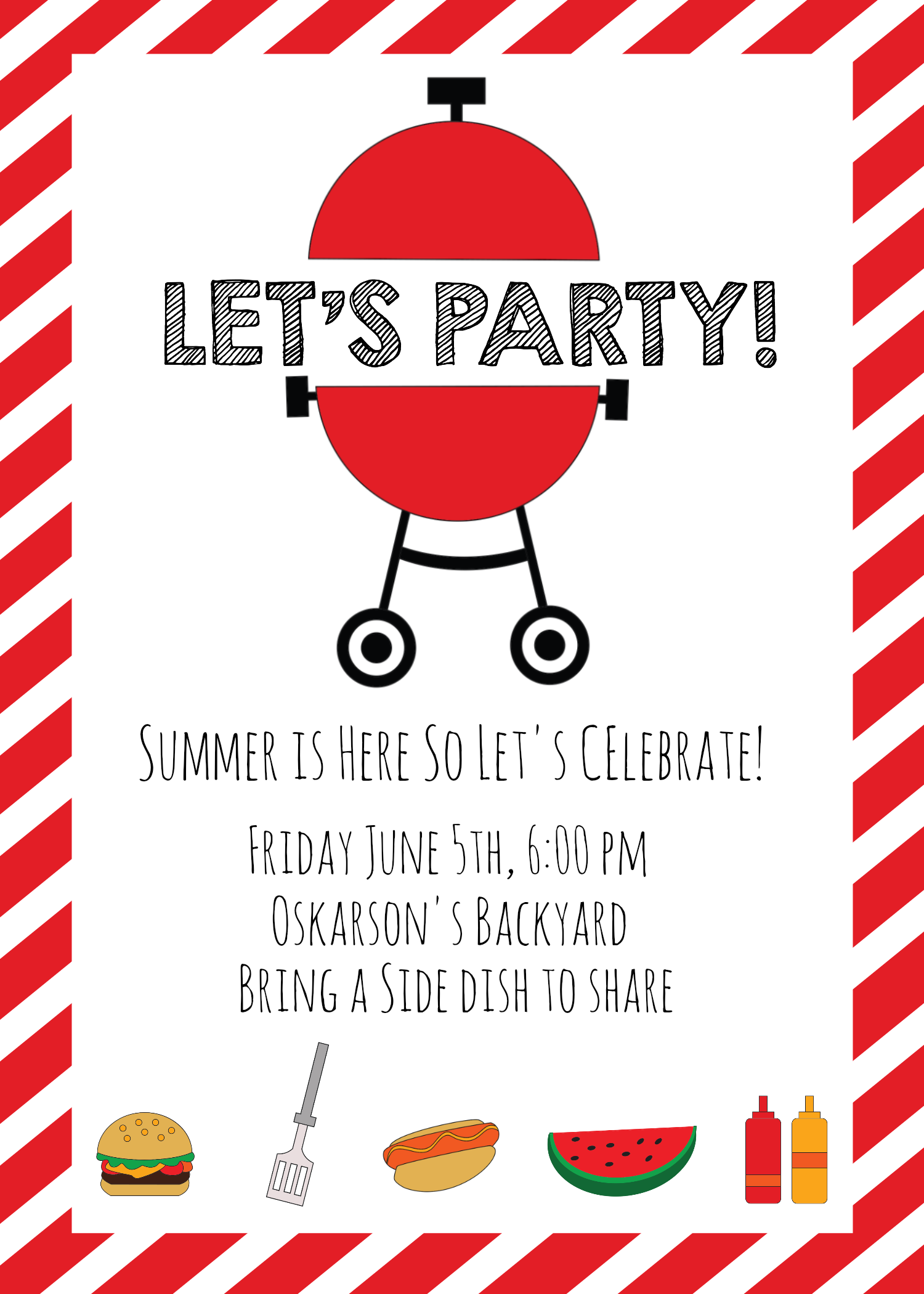 summer bbq invitations and ideas