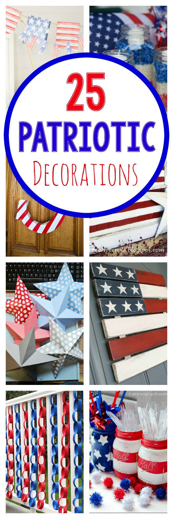 25 Patriotic Decorations to Make