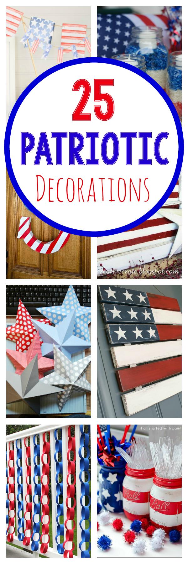 25 Patriotic Decorations to Make
