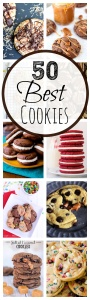 50 AMAZING Cookie Recipes! You are going to want to try them all!