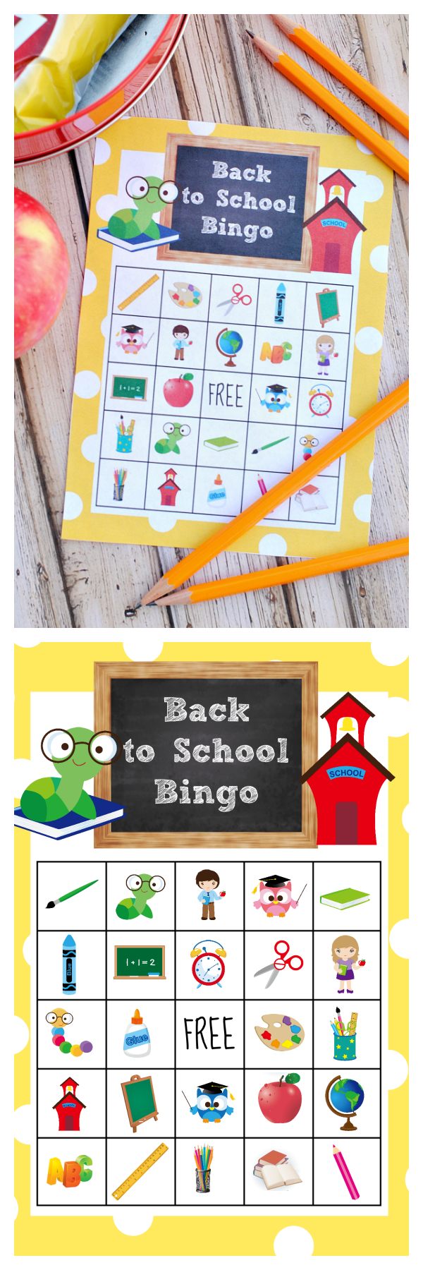 image relating to Back to School Bingo Printable identify Again in direction of University Bingo Activity in direction of Print Enjoy - Outrageous Tiny