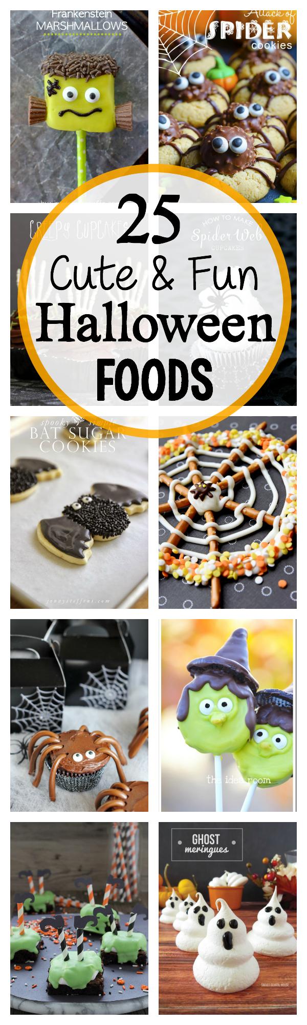 25 Cute and Fun Halloween Food Ideas