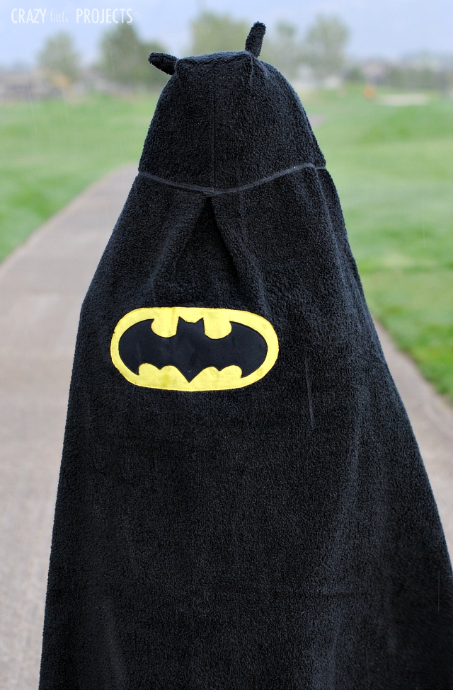 Batman Hooded Towel Pattern