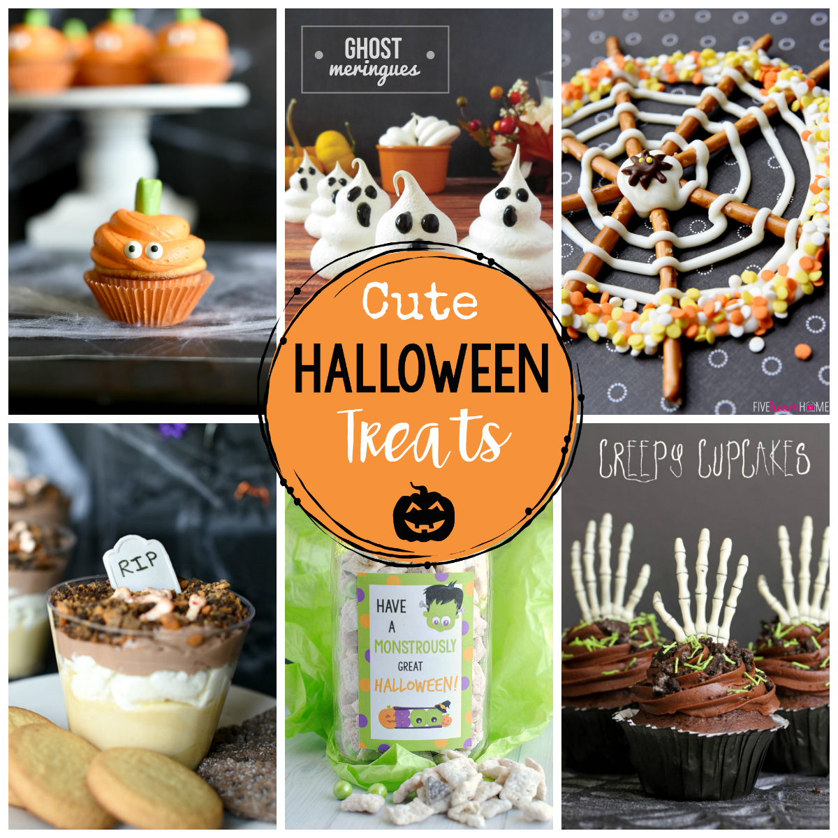 Cute & Easy Halloween Treats and Food Ideas