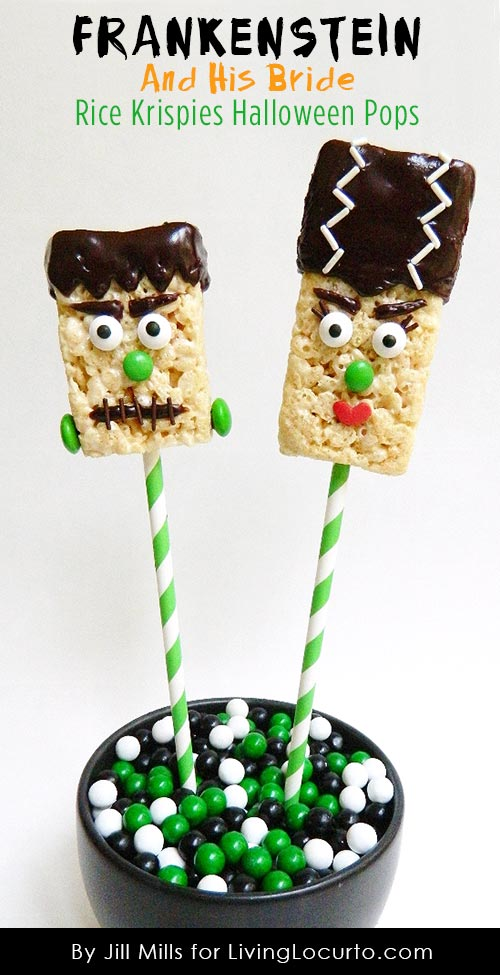 Frankenstein-Halloween-rice-crispy-Pops