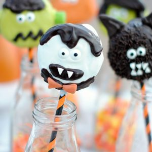 Cute Halloween Treats on a Stick