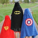 Superhero Hooded Towels