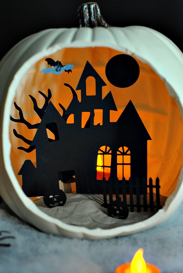 Shadow Box Pumpkin Tutorials