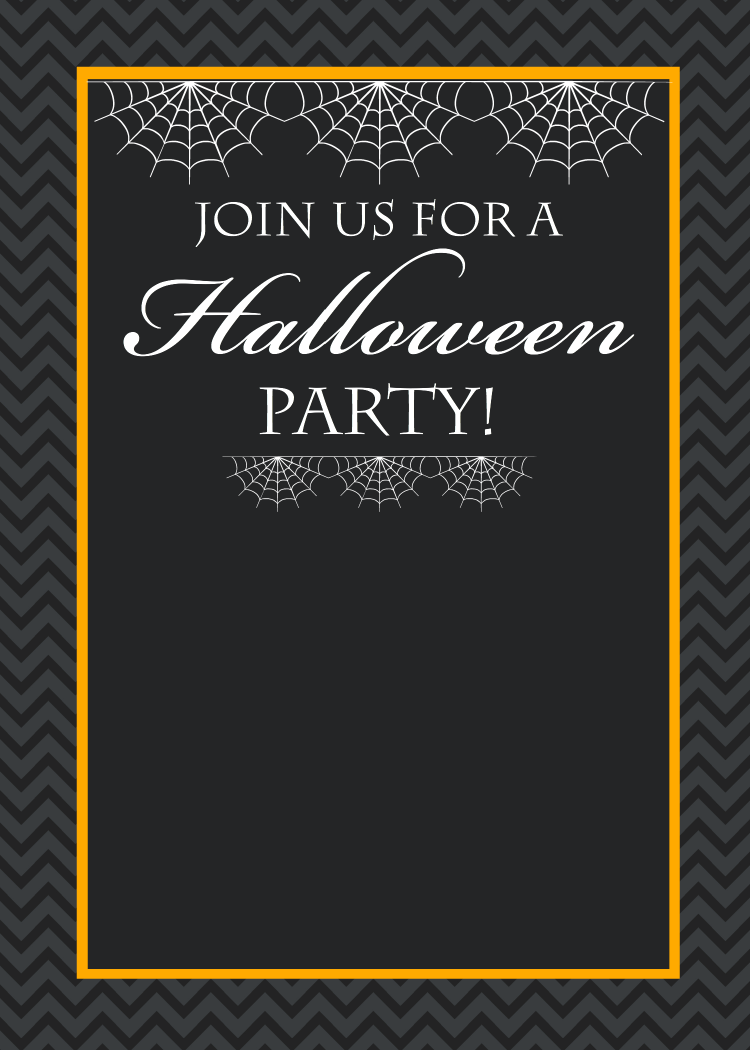 Party Invitation » Free Printable Halloween Party Invitation ...