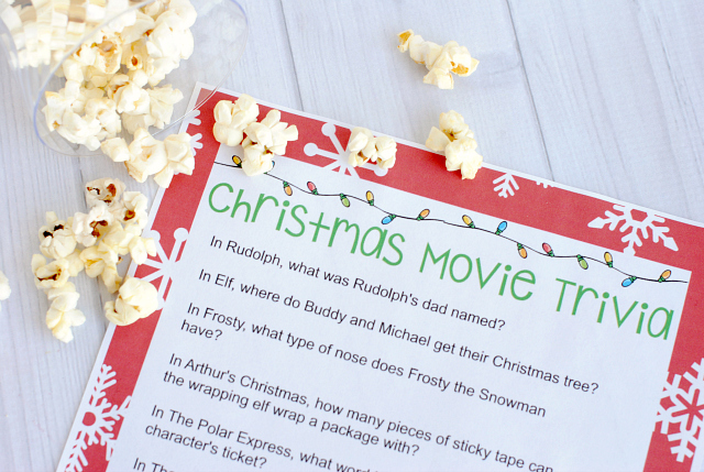 Kids Christmas Movie Trivia