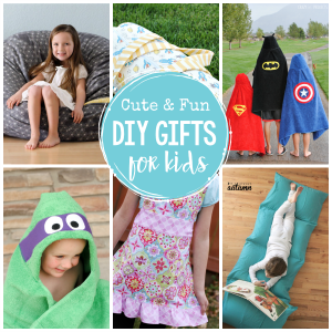 DIY Gifts for Kids-Fun handmade gifts to make for kids this year