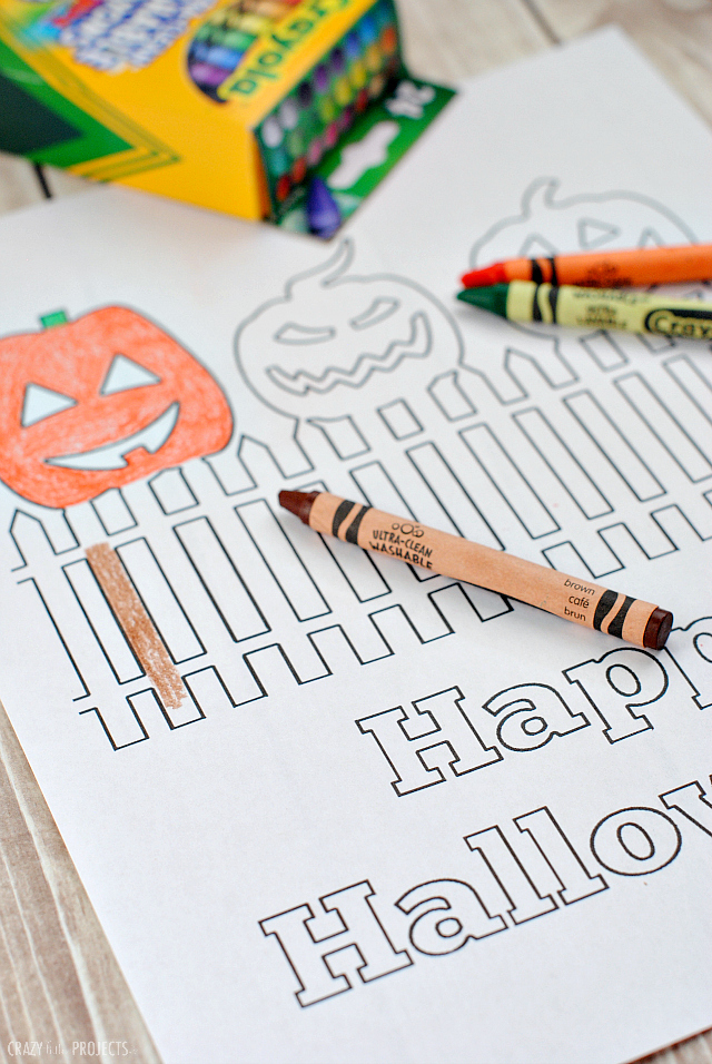 Free Printable Happy Halloween Coloring Pages